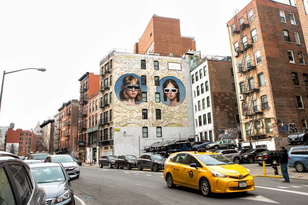 gucci wall new york