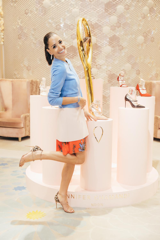 5919d5761ad41 Level Shoes Introduces Jennifer Chamandi - A&E Magazine