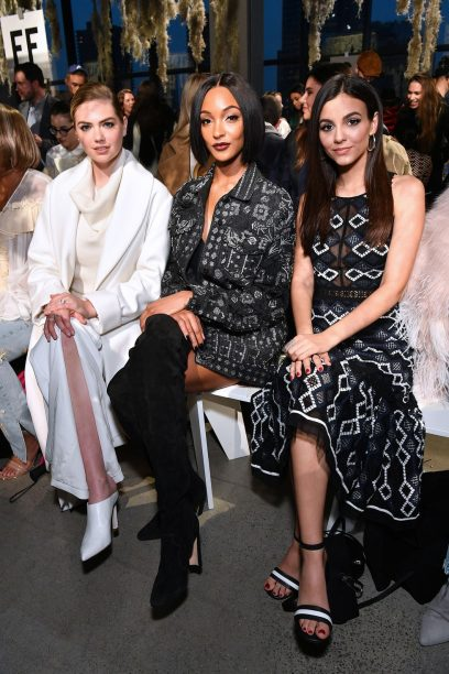 Kate Upton, Jourdan Dunn and Victoria Justice
