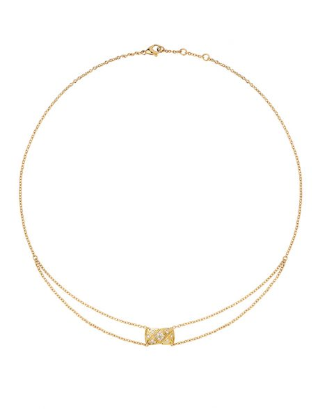 J11358 - Pendentif Coco Crush or jaune et diamants