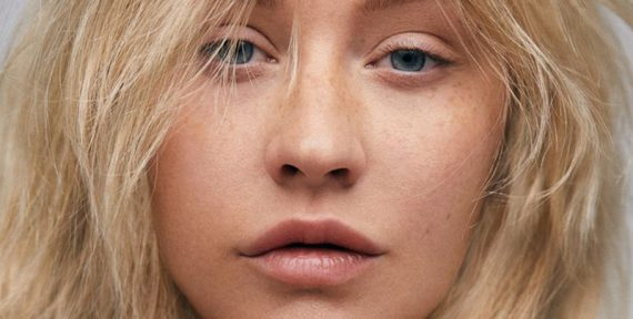 Christina Aguilera paper magazine