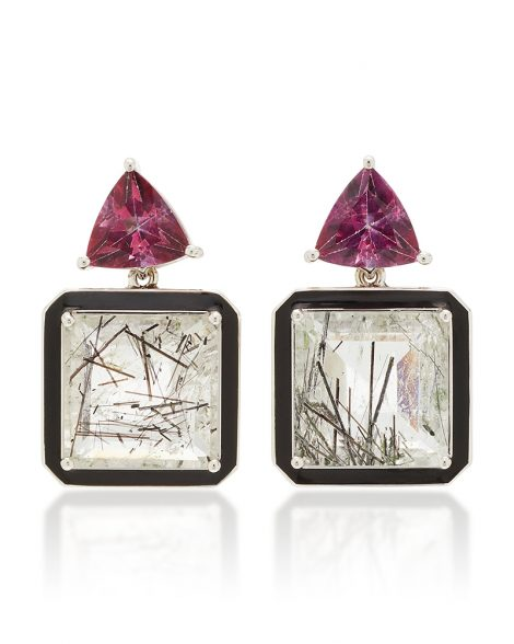 large_sarah-hendler-black-white-one-of-a-kind-pink-tourmaline-and-tourmilated-quartz-earrings