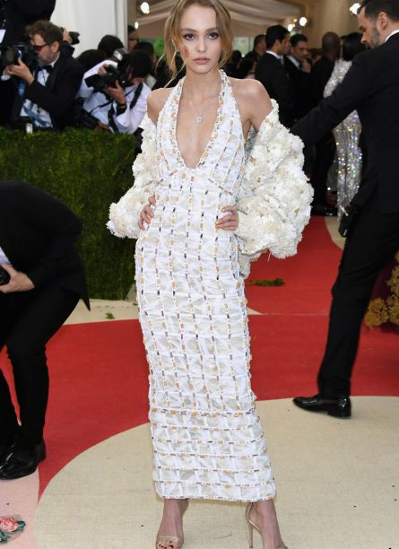 Lily-Rose Depp in Chanel 2016
