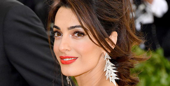 Another amazing moment for Amal Clooney