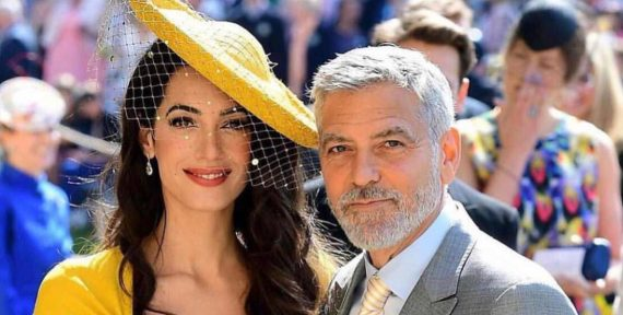 Amal Clooney recently went to the UK to celebrate The Prince's Trust