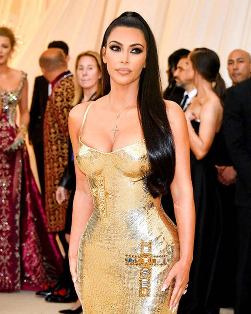 Kim Kardashian previously revealed she relies on shapewear
