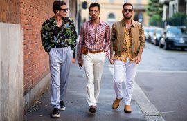 men's milan fashion week 2018 street style