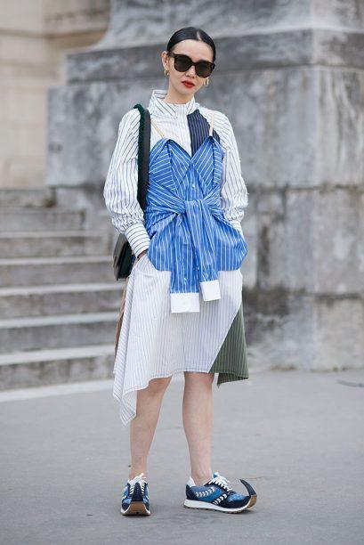 Street Style -Paris Fashion Week - Menswear Spring-Summer 2019 : Day Four