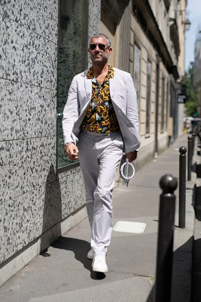 Street Style -Paris Fashion Week - Menswear Spring-Summer 2019 : Day Five