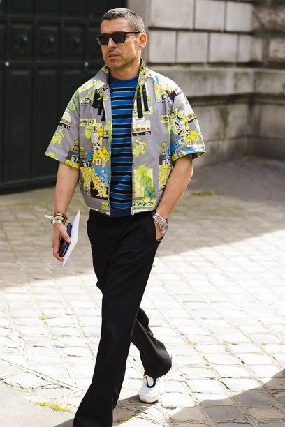 Street Style - Paris Fashion Week - Menswear Spring-Summer 2019