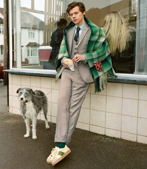 Harry styles gucci fish and chips north london one direction 3