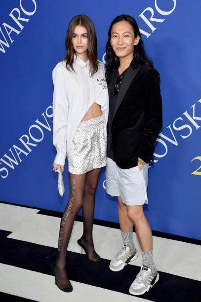 Kaia Gerber and Alexander Wang