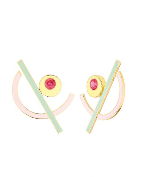 El Hada Memphis earrings