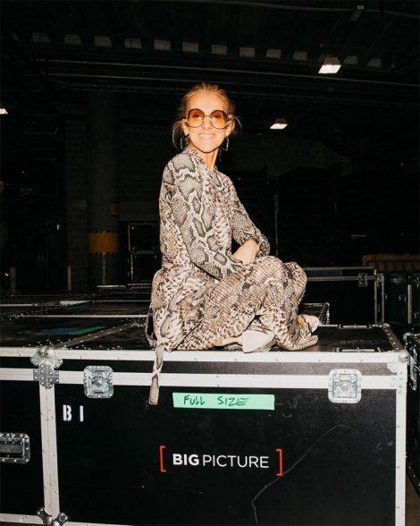 Céline Dion in Elie Saab
