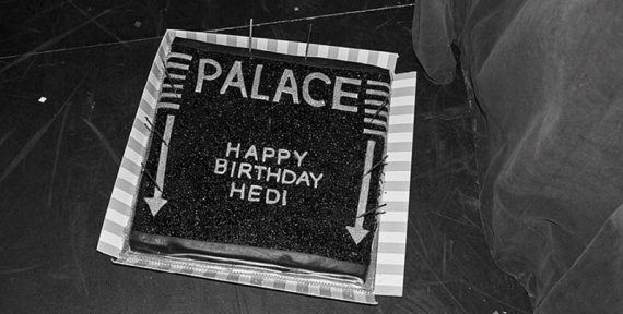 Hedi Slimane 50 birthday celine palace paris