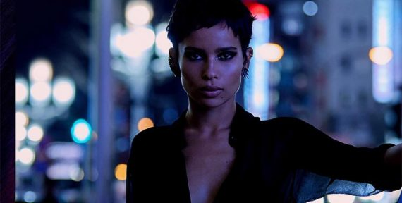 Zoë Kravitz ysl beauty opium