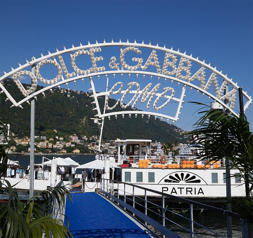 75257a75acb How Dolce   Gabbana Took Over Lake Como in Style - A E Magazine