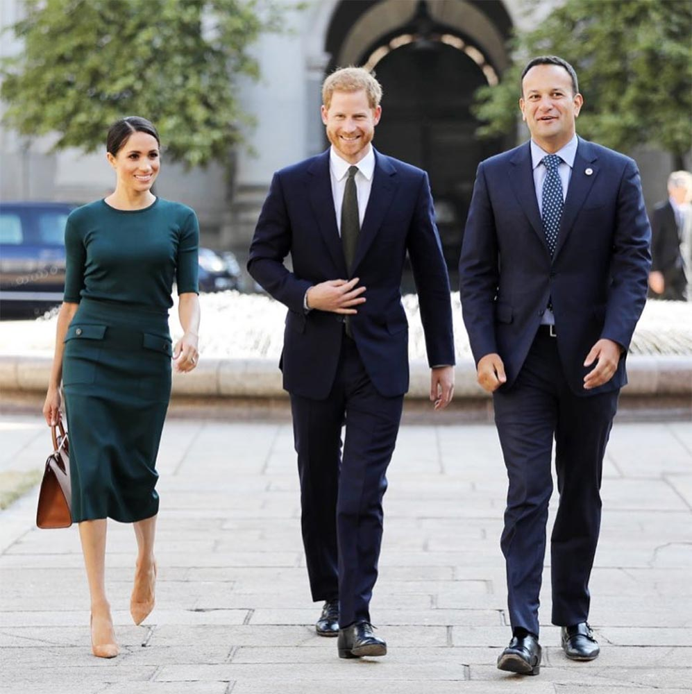 meghan markle prince harry ireland