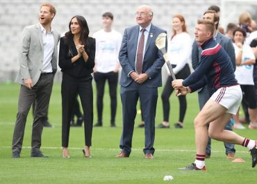 meghan markle tuxedo tour of ireland
