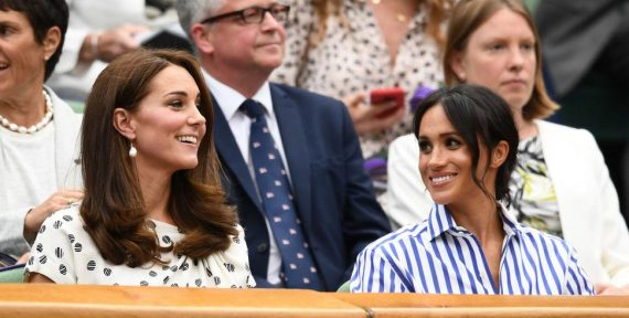 wimbledon 2018 kate middleton meghan markle