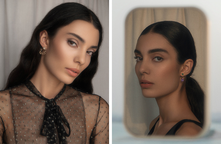 Dior Backstage editorial beauty shoot