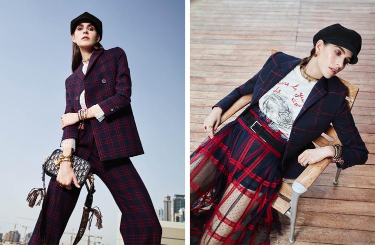 Dior Fall 2018 Maria Grazia Chiuri dubai burj khalifa