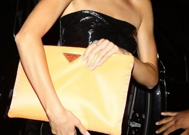 maxi clutch bag trend kendall jenner