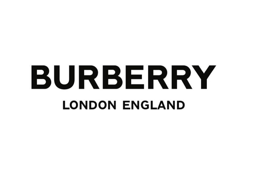 burberry logo monogram
