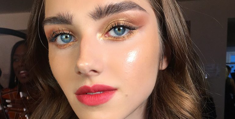 coral beauty trend 2019