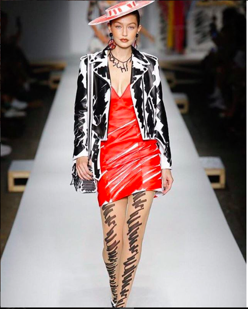 Jeremy Scott s spring summer 19 offering for Moschino quite literally  brought to life his sketches. The collection celebrated the crafts of  design and the ... f40ced3db2fd