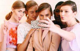 social detox digital model backstage phone