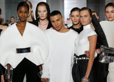 paris fashion week ss19 balmain