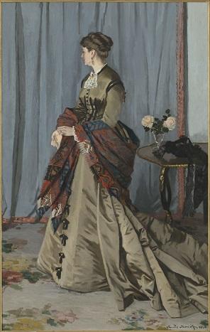 Claude Monet's Madame Louis Joachim Gaudibert (1868)