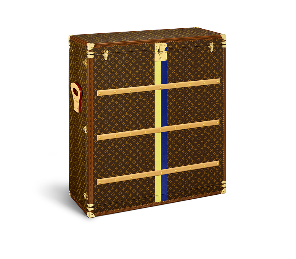 Louis Vuitton trunk art the milkmaid
