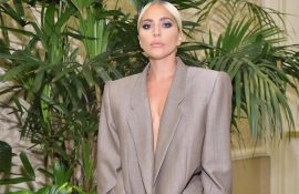 lady gaga suit