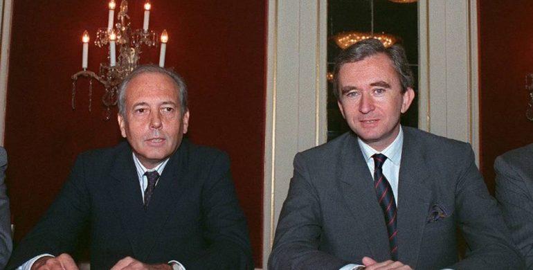LVMH Alain Chevalier Bernard Arnault