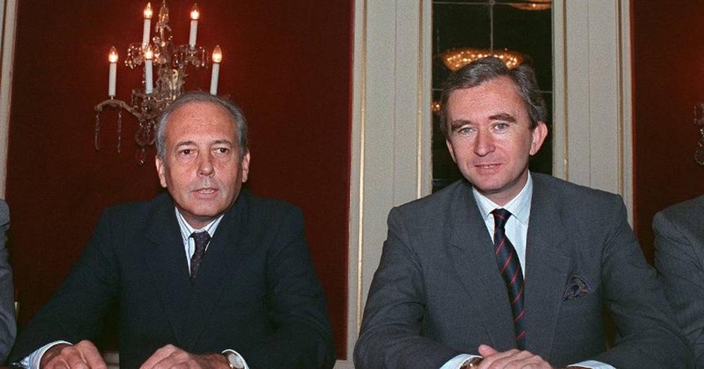 LVMH Alain Chevalier Bernard Arnault LVMH