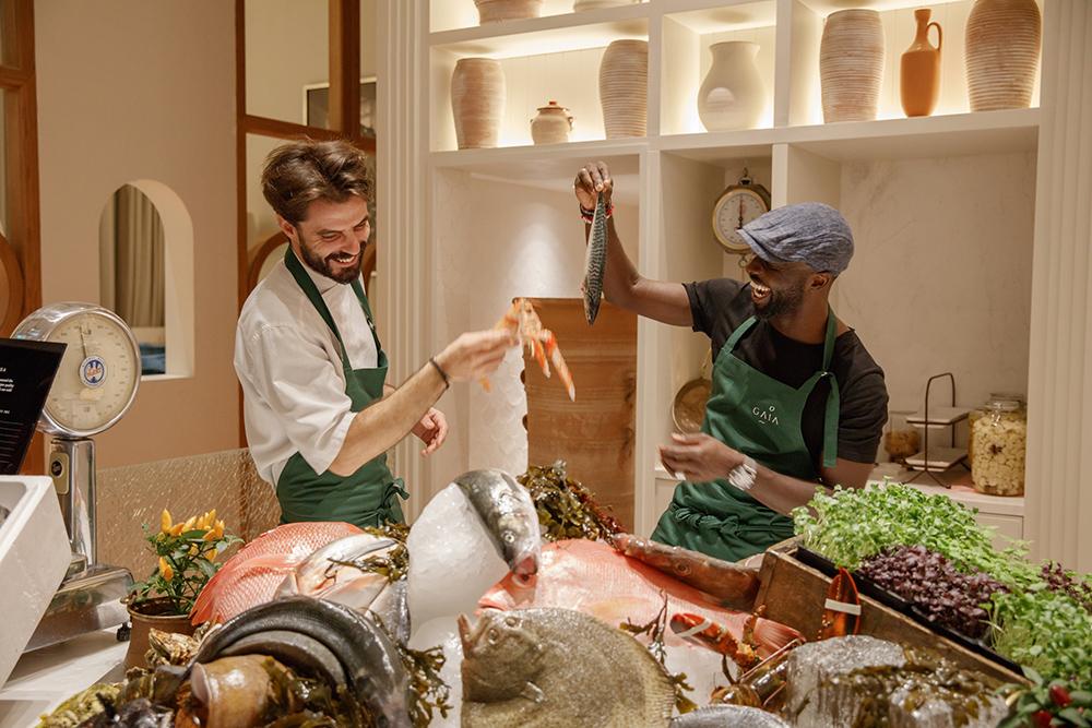 greek restaurant dubai gaia chef izu