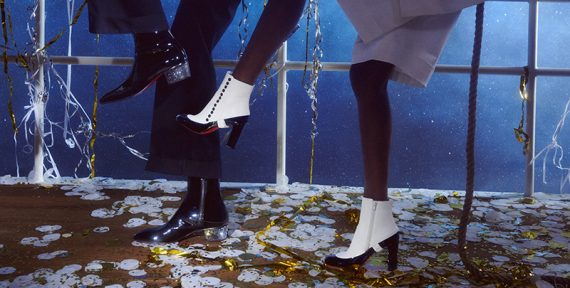 Christian Louboutin party shoes