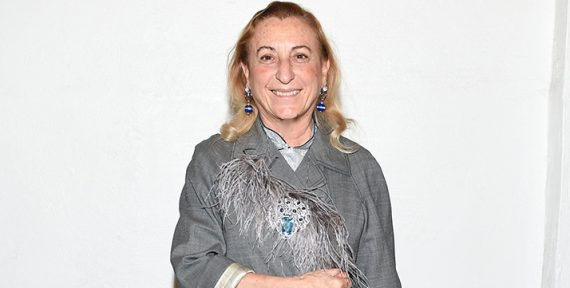 Miuccia Prada british fashion awards