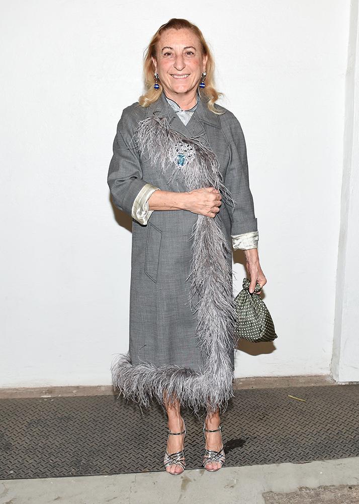 Miuccia Prada british fashion awards
