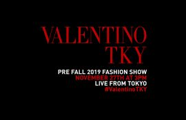 Valentino First Coed Pre-Fall Show In Tokyo