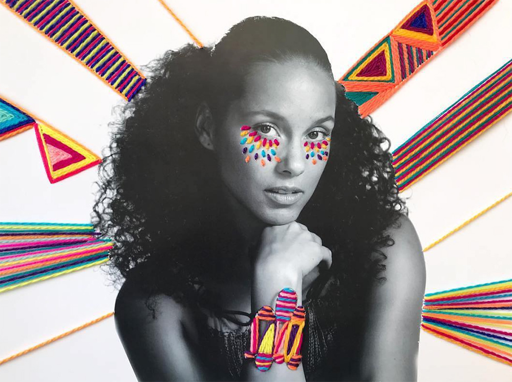 Alicia Keys also performed at the Dubai Jazz Festival in 2019