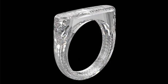 all diamond ring