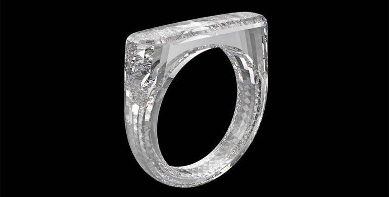 all diamond ring