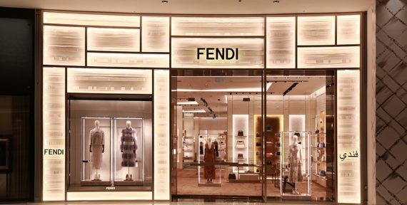 fendi dubai mall store