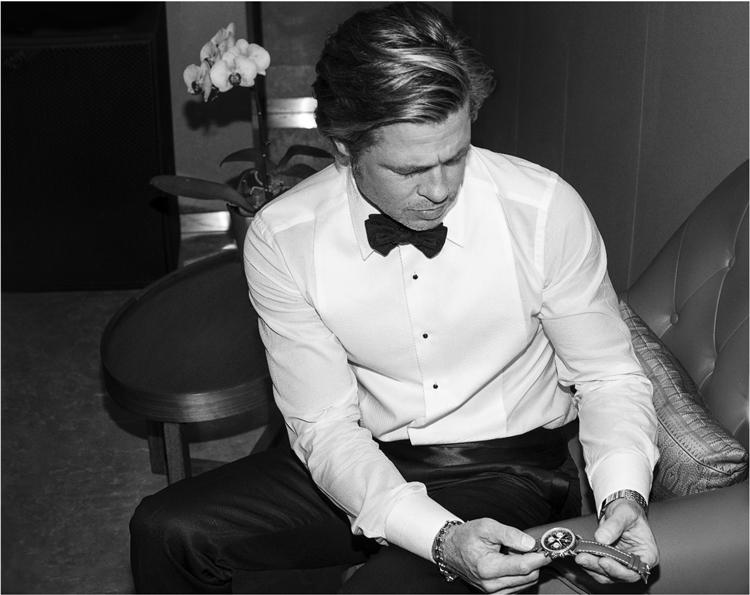 Brad Pitt breitling
