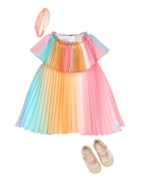 Baby Dior Dress Headband and Shoes