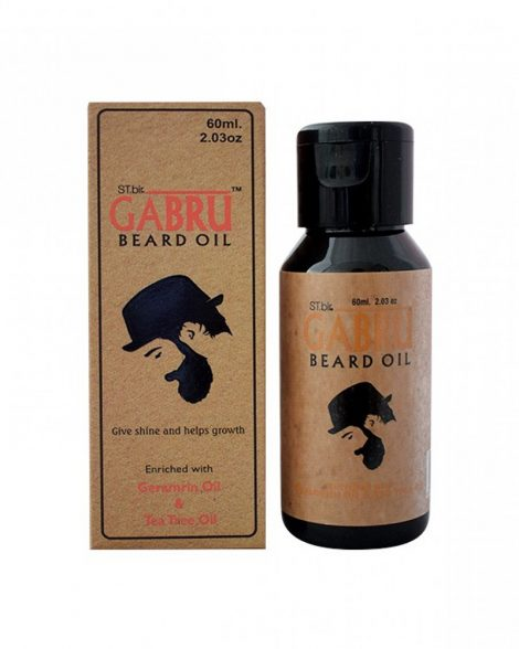 Gabru Geramrin & Tea Tree Beard Oil