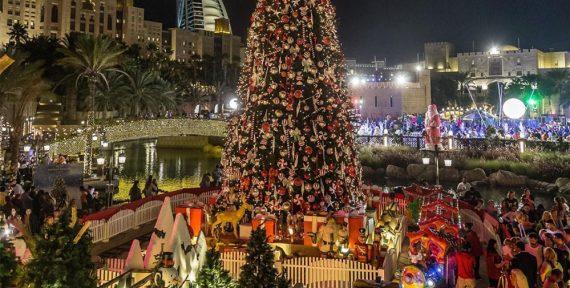 dubai christmas 2018